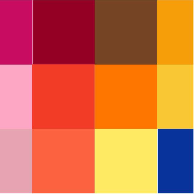 Pantone 2019春季流行色彩