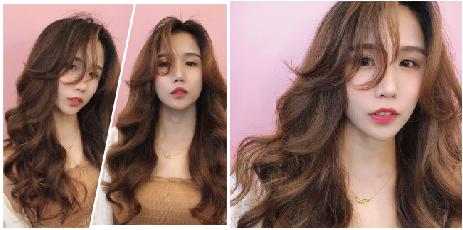 九宮格燙髮技術